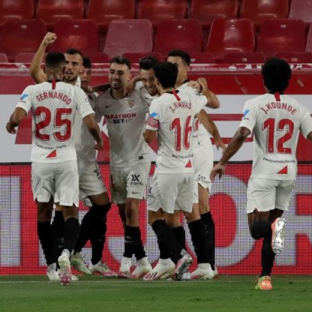 Sevilla returns to the Champions League