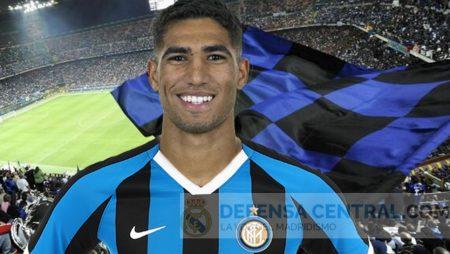Achraf, nuevo jugador del Inter de Milán