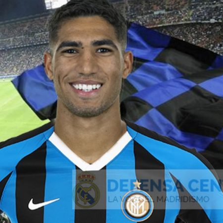Achraf is a new player for Inter Milan