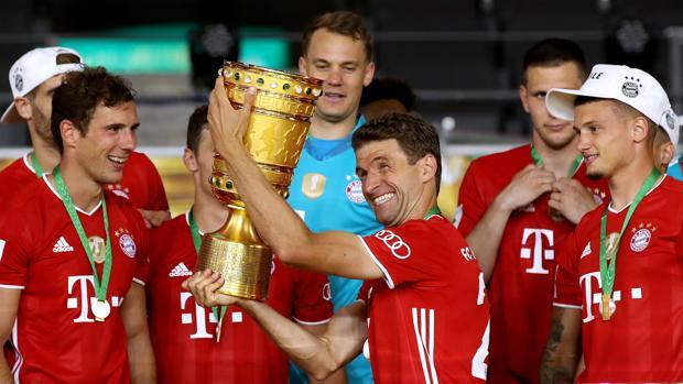 El Bayern de Múnich hace doblete
