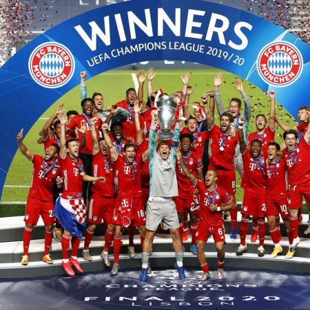 Bayern Munich are proclaimed European champions