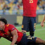 España cae ante Ucrania
