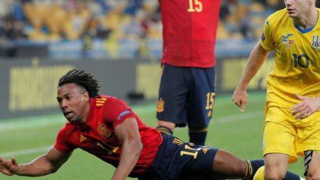 Spain falls to a Ukraine