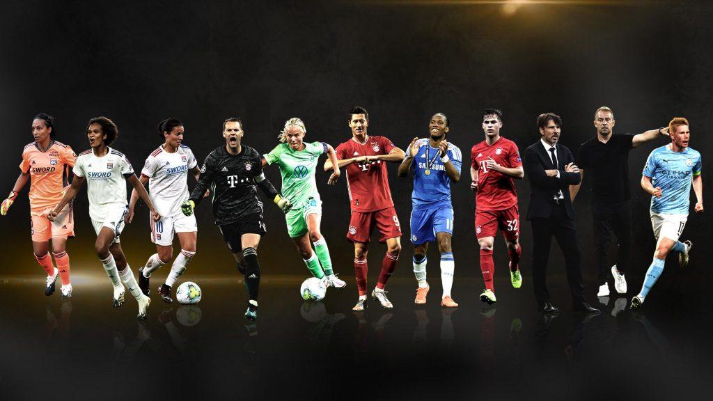 Lewandowski mejor jugador y delantero de la Champions League
