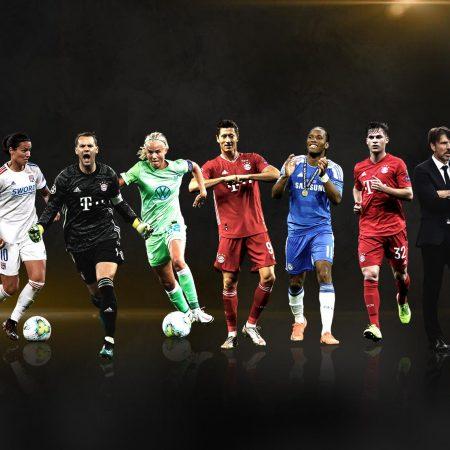 Lewandowski, mejor jugador y delantero de la Champions League