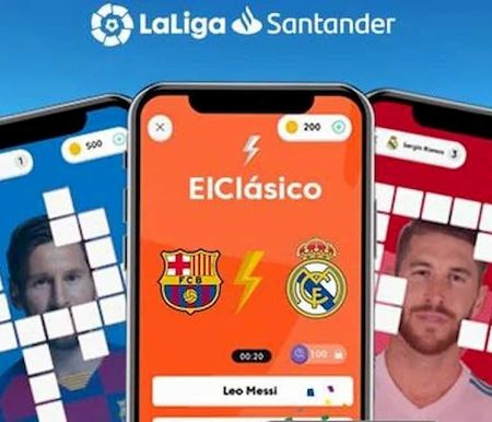 Score Words LaLiga, an app for football fans
