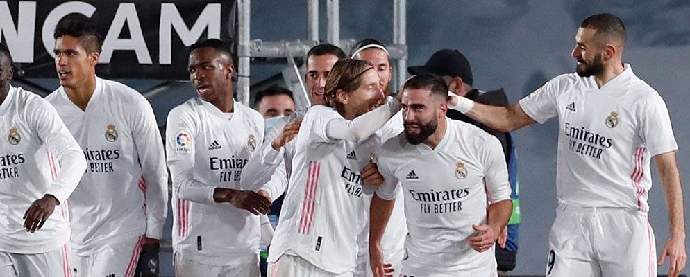 Real Madrid beat Atlético by two goals