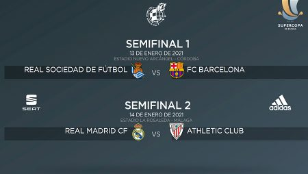 Semifinals of the 2020/2021 Spanish Super Cup