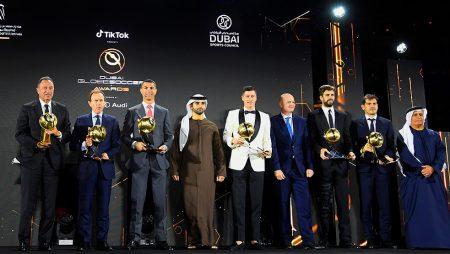 Ronaldo, Real Madrid and Guardiola awarded at the Globe Soccer Awards
