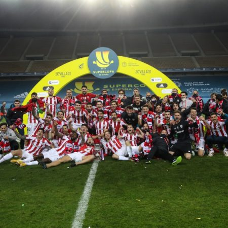 Athletic wins the Super Cup