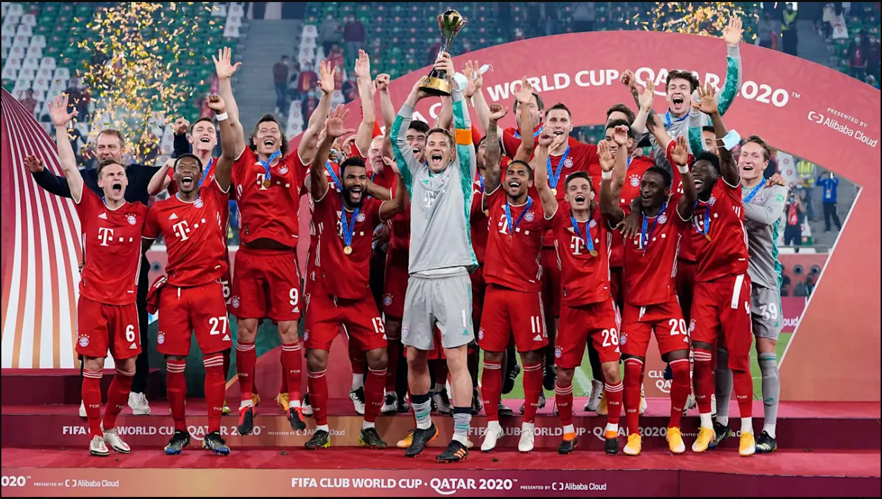 Bayern Munich win the Club World Cup