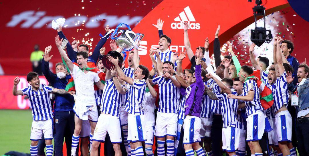 La Real Sociedad, campeón de la Copa del Rey 2020