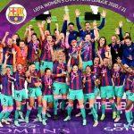 el barça femenino conquista la Champions